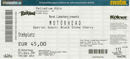 Motoerhead Konzert 2009