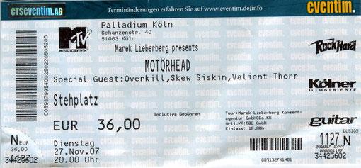 Motoerhead Konzert 2007