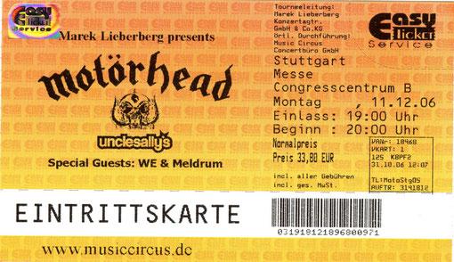 Motoerhead Konzert 2006