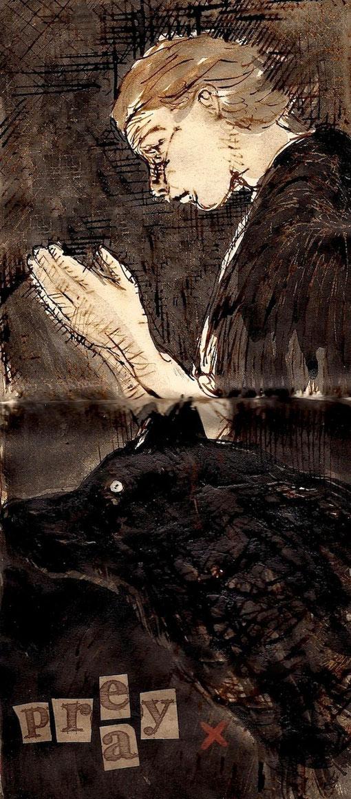 pray- prey