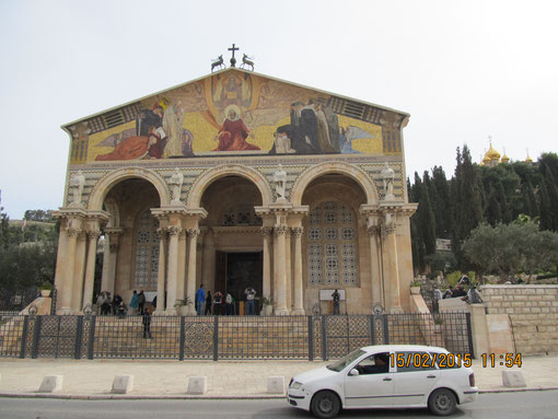 Церковь Агонии Христа в Гефсиманском саду