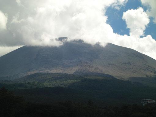 Mt.Asama et Pac Onioshidashi , 浅間山と鬼押出し園