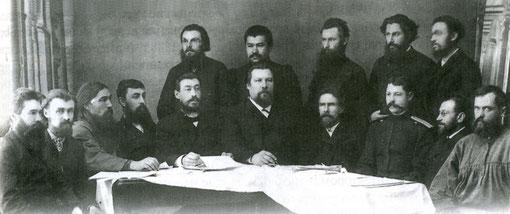 Члены Якутской (Сибиряковской) экспедиции. Якутск