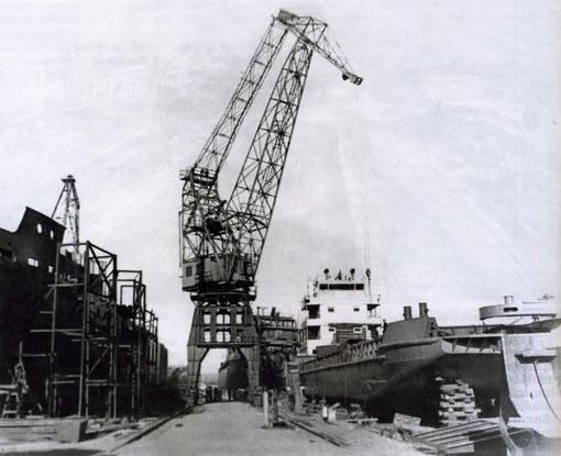 Осетровская верфь. 60-е годы