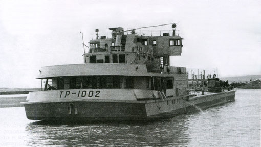 Буксировка танкера из Качуга