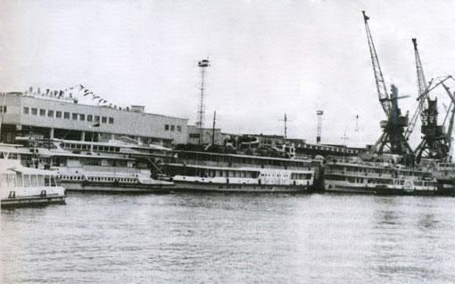 Якутский речной порт 60-е годы