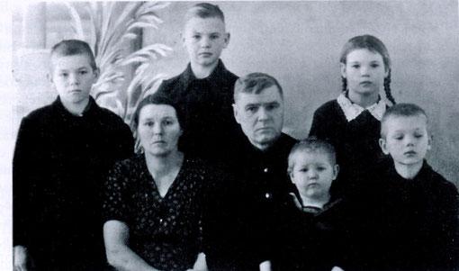 Семья Слабожаниных