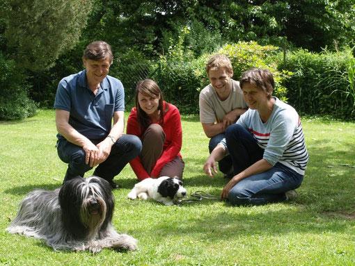 Pontus' Familie & Frieda