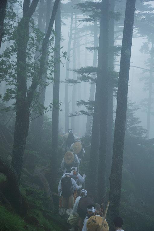 Okugake Pigrimage - Tiefinnerer Laufweg der Großgipfel - 2013