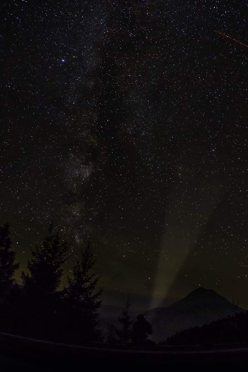 Starry Sky over Mount Ötscher - Austria