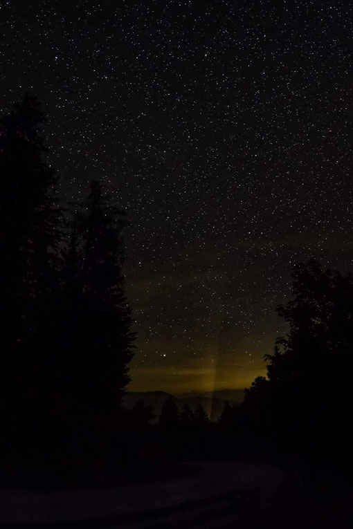 Starry Sky over Mount Ötscher - Austria