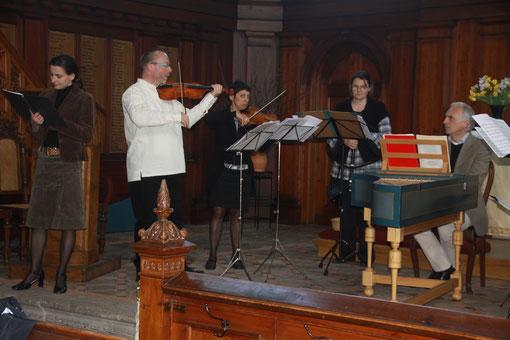 kleines Konzert in der Schelfkirche zu Schwerin (Foto: Ulrich Kliegel)