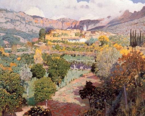 Valle de los naranjos