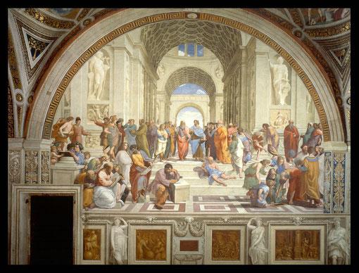 Escuela de Atenas. Rafael