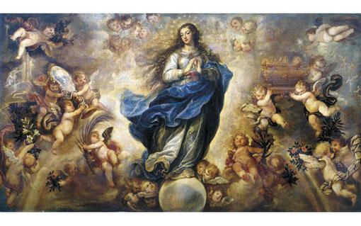 Inmaculada Concepción de Francisco Rizzi, 1614-1685, Cádiz