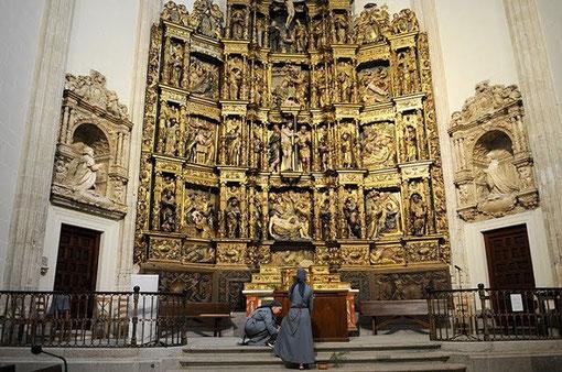 Retablo Mayor de la Capilla del Obispo