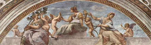 Las virtudes cardinales. Rafael