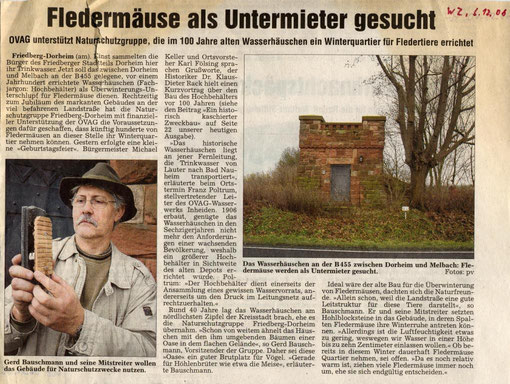 "100 Jahre ""Altes Wasserhaus"""