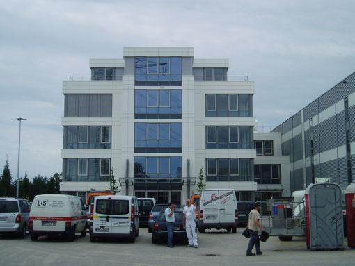 Gunt Gerätebau Hamburg; Neubau einer Produktionsstätte mit Verwaltung ind Barbüttel