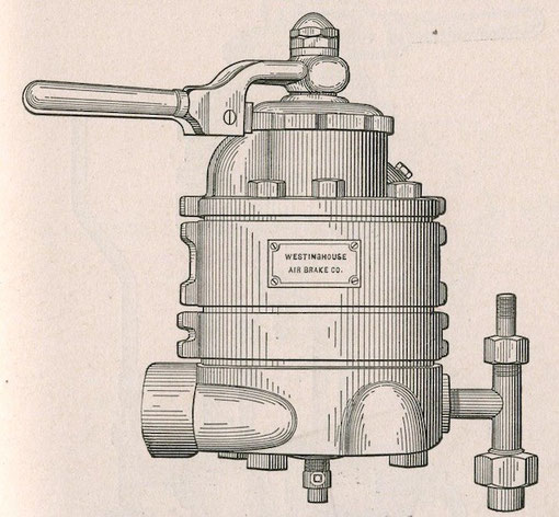Westinghouse_Air_Brake_control_handle_and_valve