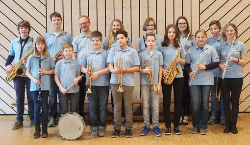 Jugendorchester im Jubiläumsjahr 2016 - 105 Jahre Musikverein Bruchhausen e.V.