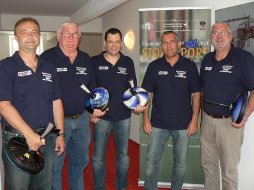 v.l. Gerhard Aigner, Johann Hochpöchler, Christian Stockhammer, Harald Tilli, Johannes Samwald (nicht am Bild: Udo Derfler)
