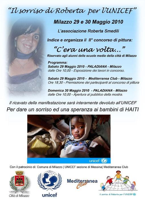 il sorriso di Roberta per l'UNICEF - progetto Haiti