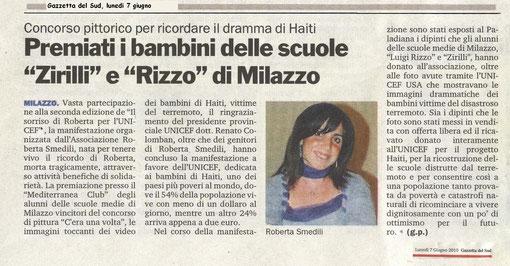 Gazzetta del Sud - 7 Giugno 2010
