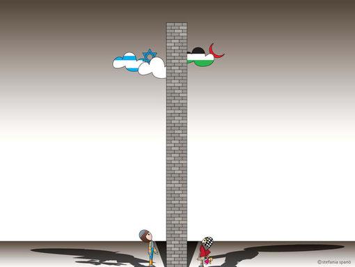 Un muro tra due popoli