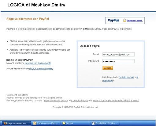PayPal di LOGICA