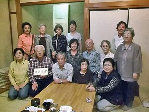 暑気払い 2013.9.28 魚河岸料理田沼 柴田さん提供