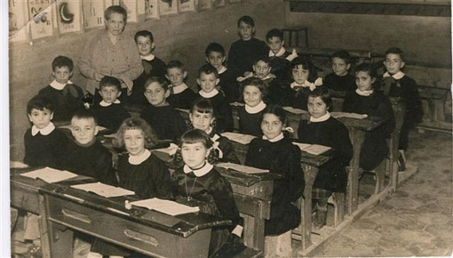 I elementare, anno 1956. Maestra Albertina.