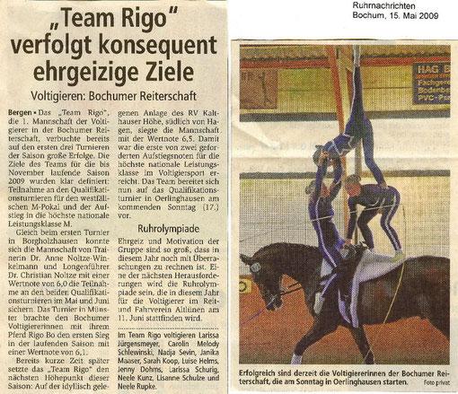 Ruhrnachrichten, Bochum am 15.05.2009
