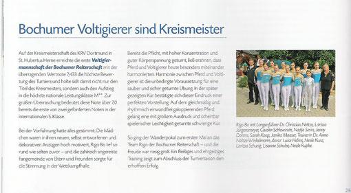 Stallpost Kreisreiterverband Dortmund Heft 2/ 2009