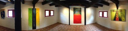 Panorama-Aufnahme:Triptychons