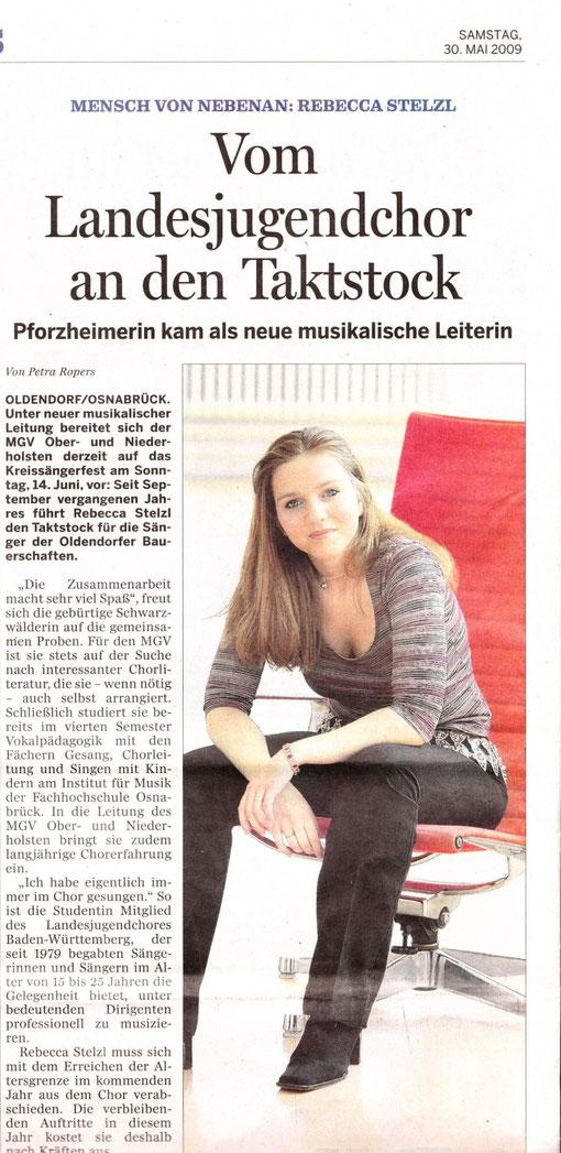 Meller Kreisblatt v. 30.05.2009