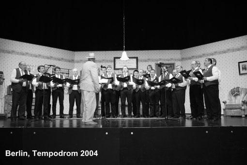 2004 Auftritt bei Frieda & Anneliese im Tempodrom, Berlin