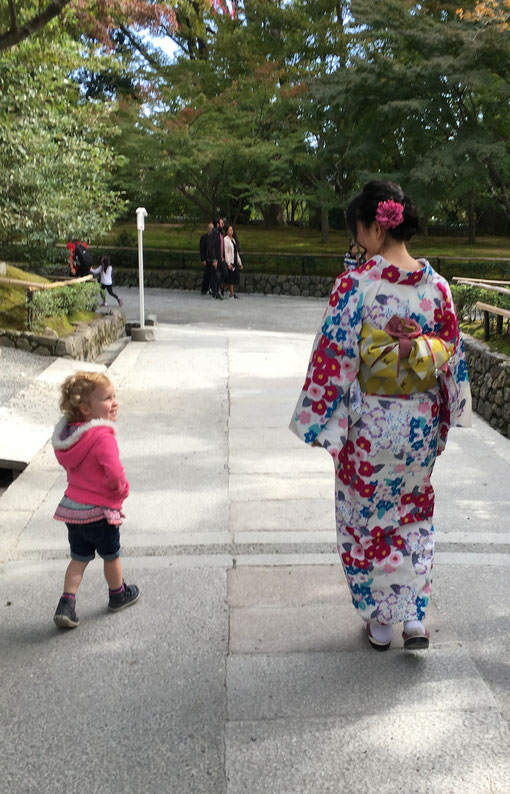 Kyoto - 7 Day Itinerary For Active Families with Small Kids - Visiting the Golden Pavillion