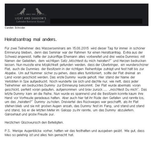 Text von Carsten Schröder