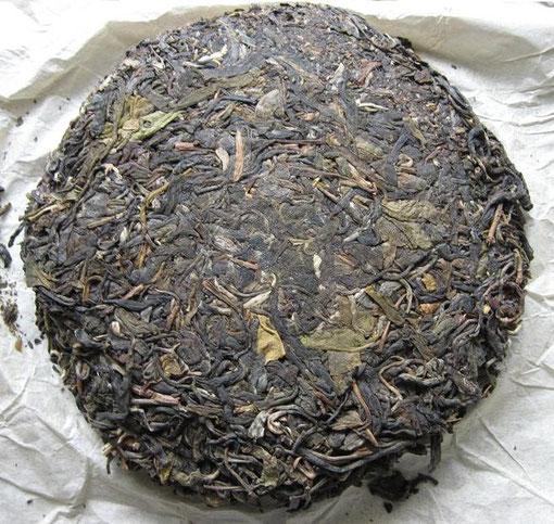 2002 Wuliang Ancient Arbor Pu-erh Tea Cake (无量山古树乔木茶)