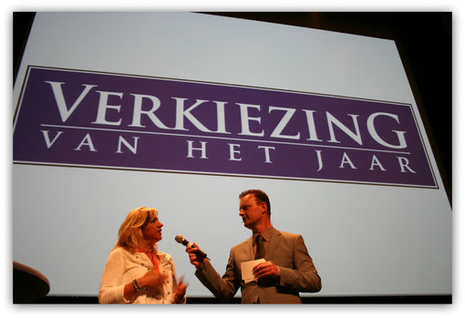 Uitreiking 1e prijs in het Evoluon In Eindhoven.