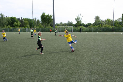 Team TSV Poing F3 - 05.05.2012 - Spielszene