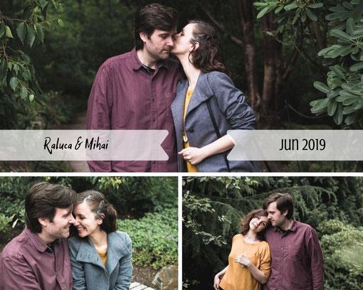 royal botanic gardens edinburgh couple photography
