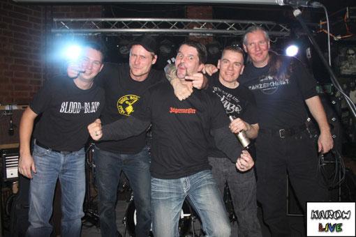 Record Release Party von Freddys Dinner / mit Spanx und Freddys Dinner