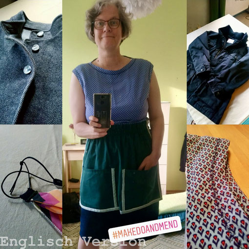 Clothes that I have repaired or spruced up. © Griselka 2020