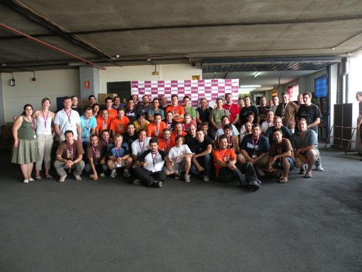 Participantes del TMAP 2010 (Pulsa para ampliar)
