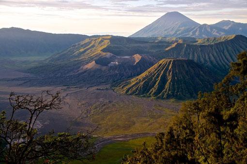 Mount Bromo im Morgenlicht