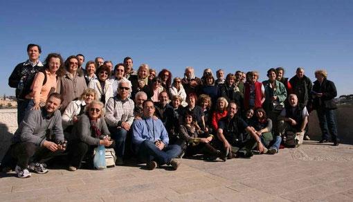 I pellegrini Terrasanta 2010