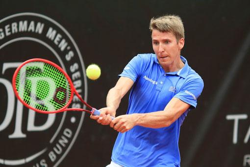 Davis Cup-Spieler Cedric-Marcel Stebe; Foto: Jürgen Hasenkopf