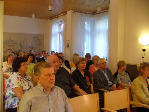 Jubiläumsveranstaltung zum 20-jährigen Bestehen von AGORA in der SIH-Villa (18.6.2014)